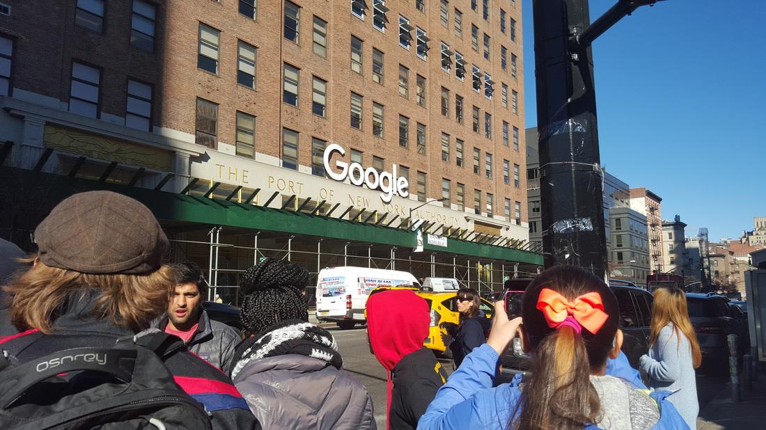 google office tour inside mckinsey nyc google office tour 1114 ignite greater newark